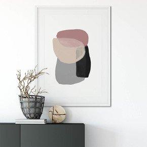Minimal-Abstract-Shapes-2-Wall-Art-Print_Abstract-House_Treniq_0