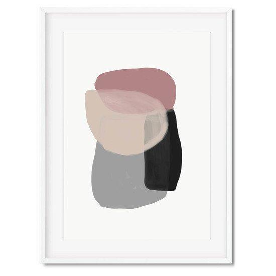 Minimal abstract shapes 2   wall art print abstract house treniq 1 1563451720581
