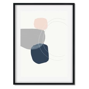 Minimal-Abstract-Shapes-3-Wall-Art-Print_Abstract-House_Treniq_0