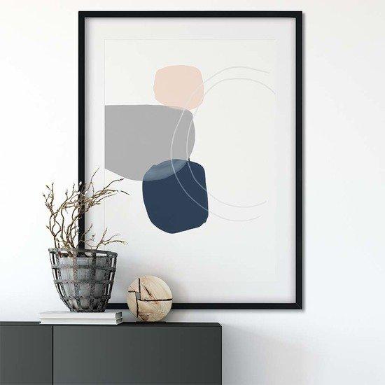 Minimal abstract shapes 3   wall art print abstract house treniq 1 1563451854454