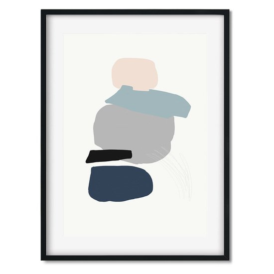 Minimal abstract shapes 4   wall art print abstract house treniq 1 1563451971707