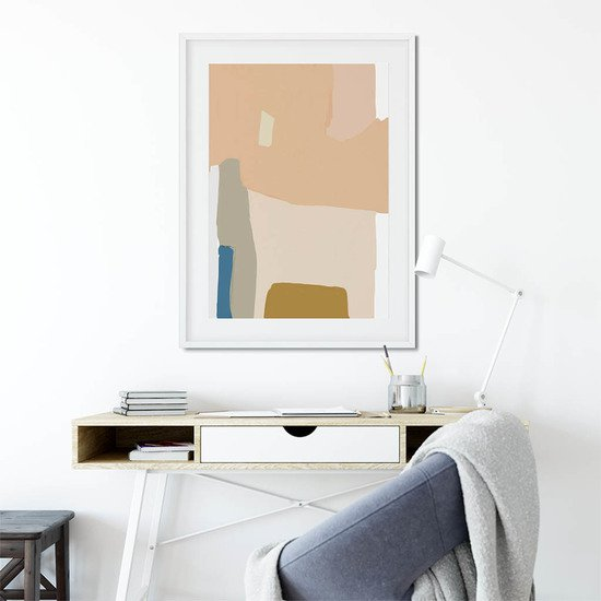 Modern abstract shapes   wall art print abstract house treniq 1 1563452221791