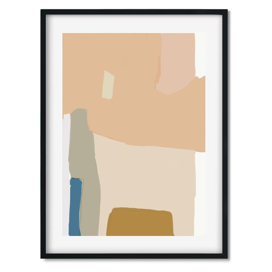 Modern abstract shapes   wall art print abstract house treniq 1 1563452221790