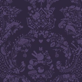 New-World-Damask-Wallpaper-Purple-&-Purple_Mineheart_Treniq_0