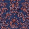 New world damask wallpaper  purple and orange mineheart treniq 1 1563895318880
