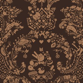 New-World-Damask-Wallpaper-Brown-&-Beige_Mineheart_Treniq_0