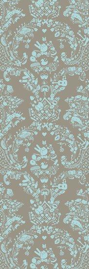 New world damask wallpaper  grey   blue mineheart treniq 1 1563976099990