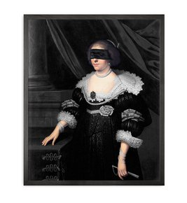 Blindfold-7-Framed-Printed-Canvas_Mineheart_Treniq_0