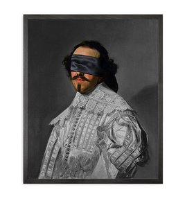 Blindfold-5-Framed-Printed-Canvas_Mineheart_Treniq_0