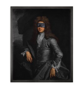 Blindfold-3-Framed-Printed-Canvas_Mineheart_Treniq_0