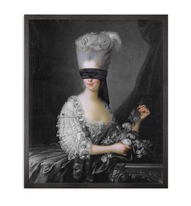 Blindfold-2-Framed-Printed-Canvas_Mineheart_Treniq_0