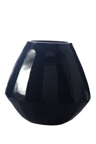 Anasa Black Glass Decorative Vase