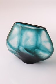 Anasa Blue Glass  vase