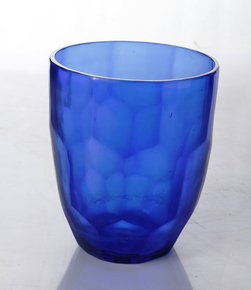 Anasa Blue Glass New Design Vase