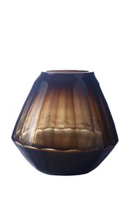 Anasa Brown Glass Decorative Vase
