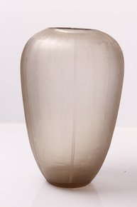 Anasa Transparent Glass Vase