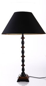 Anasa Brown Metal Table Lamp