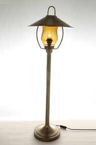 Anasa Copper Metal Floor Lamp