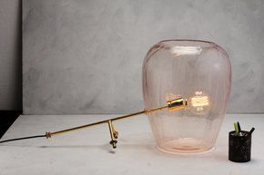 Anasa Glass Table Lamp