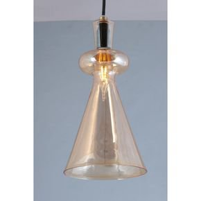 Anasa Transparent Glass Pendant1