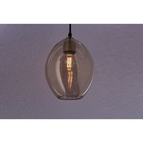 Anasa Transparent Glass Pendant