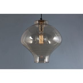 Anasa Transparent Glass Ceilling Light1