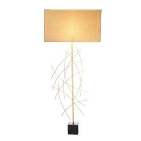 Anasa Golden Metal Floor Lamp1