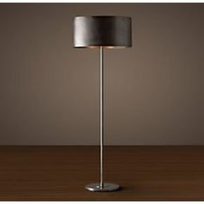 Anasa Black Metal Bamboo Lamp