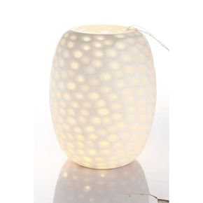 Anasa White Glass Table Lamp-1