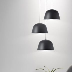 Anasa Black Metal Ceiling Light