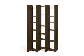 Twin-Bookcase-In-Walnut-Melamine_Tema-Home_Treniq_0