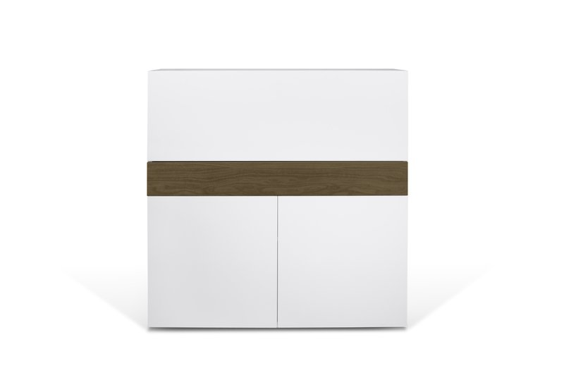 Focus workstation in white and walnut temahome treniq 1 1564760848760