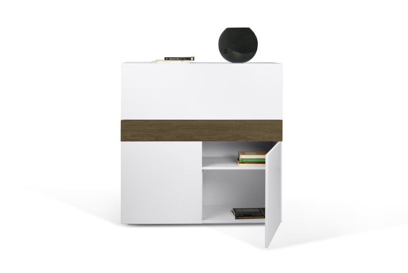 Focus workstation in white and walnut temahome treniq 1 1564760848764