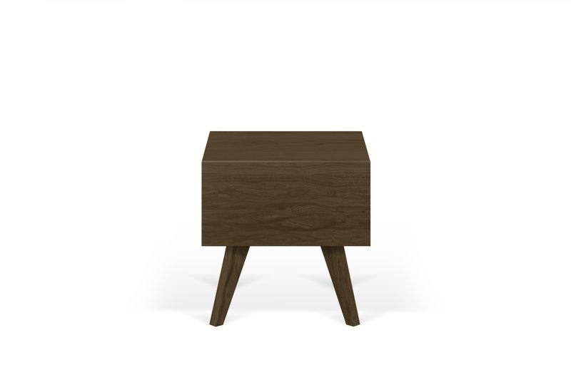 Mara night table wooden legs in walnut veneer temahome treniq 1 1565173633657