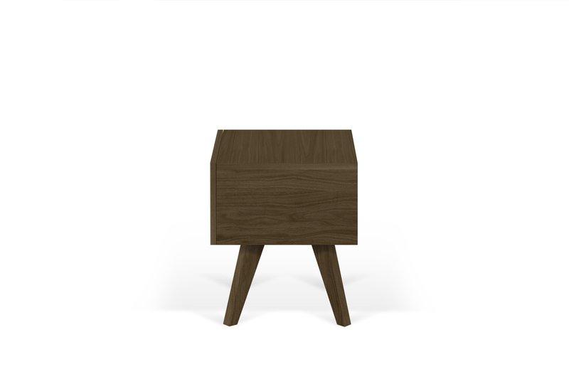 Mara night table wooden legs in walnut veneer temahome treniq 1 1565173633661