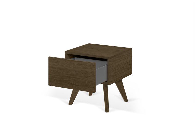 Mara night table wooden legs in walnut veneer temahome treniq 1 1565173633664