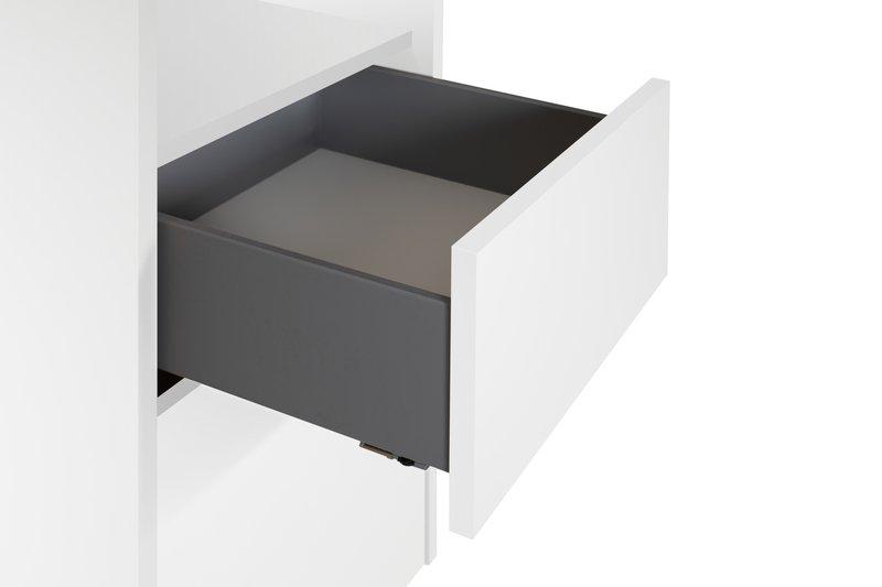 Mara chest of 3 drawers wooden legs in white temahome treniq 1 1565177054752
