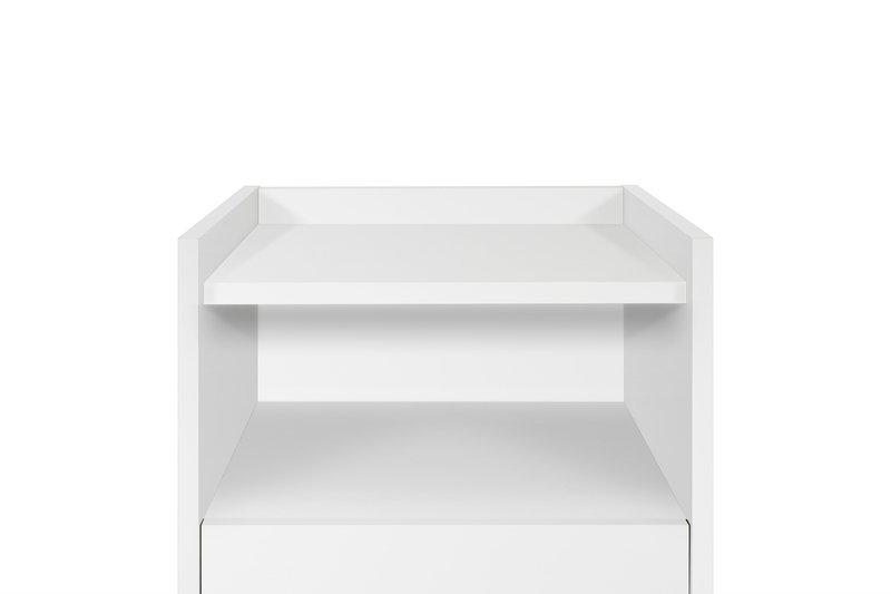 Mara chest of 3 drawers wooden legs in white temahome treniq 1 1565177054754