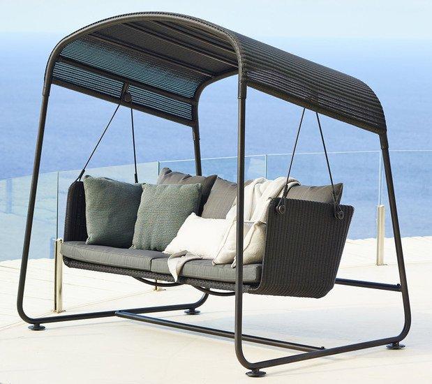 Cave swing sofa incl. grey sunbrella cushions set cane line treniq 1 1565696093586