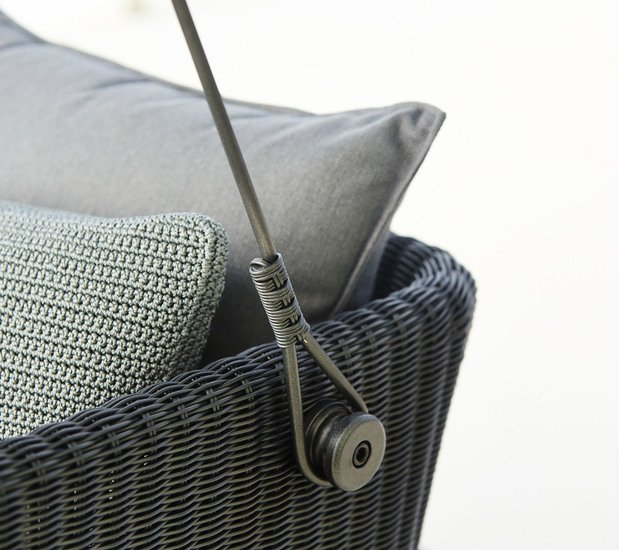 Cave swing sofa incl. grey sunbrella cushions set cane line treniq 1 1565696093780