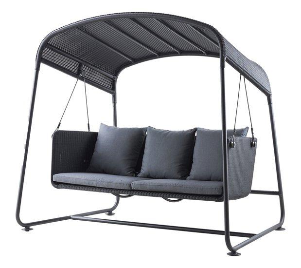 Cave swing sofa incl. grey sunbrella cushions set cane line treniq 1 1565696093549
