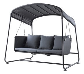 Cave-Swing-Sofa-Incl.-Grey-Sunbrella-Cushions-Set_Cane-Line_Treniq_0