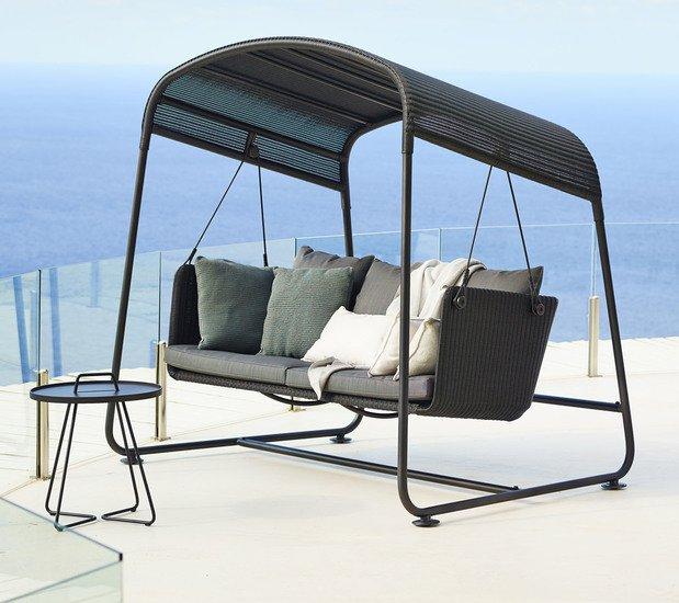 Cave swing sofa incl. grey sunbrella cushions set cane line treniq 1 1565696093555