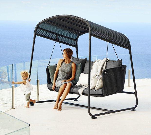 Cave swing sofa incl. grey sunbrella cushions set cane line treniq 1 1565696093551