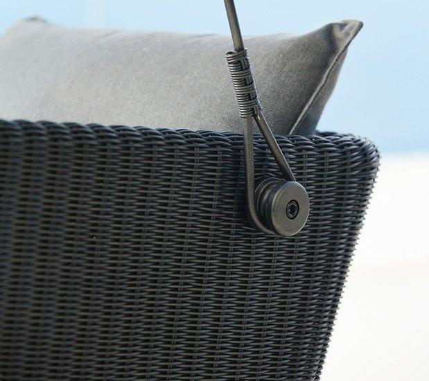 Cave swing sofa incl. grey sunbrella cushions set cane line treniq 1 1565696093791