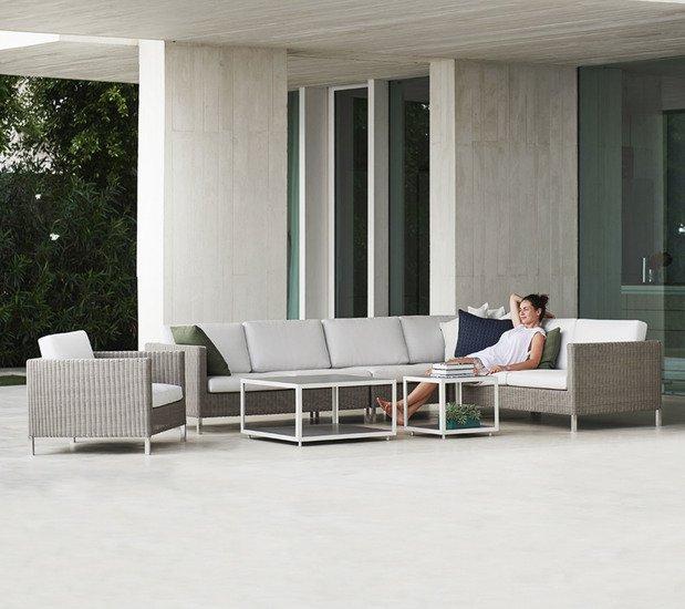 Connect 2 seater sofa module  left cane line treniq 1 1565779224476