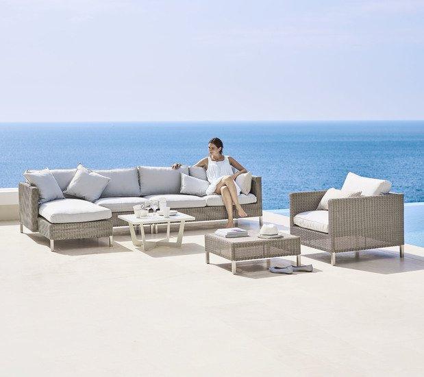 Connect 2 seater sofa module  left cane line treniq 1 1565779224300