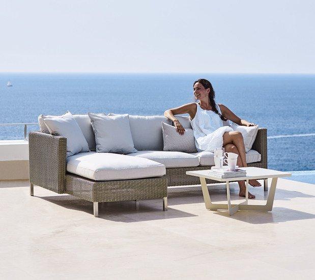 Connect 2 seater sofa module  left cane line treniq 1 1565779224477