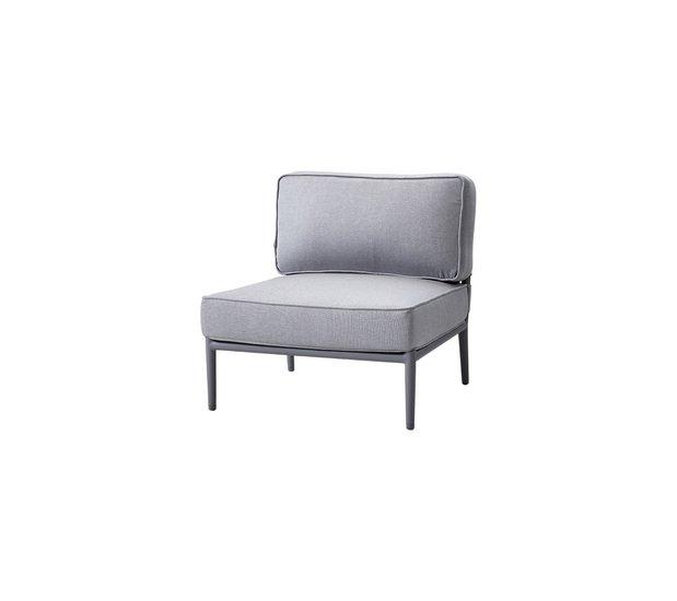 Conic single modul  incl. cushion set cane line treniq 1 1565779265096