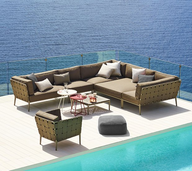 Conic single seater module incl. cushion set cane line treniq 1 1565779743203